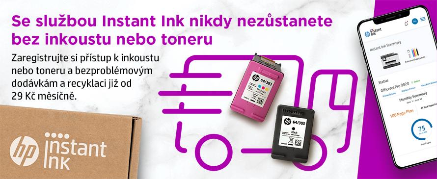 Instant Ink - nový způsob předplaceného tisku